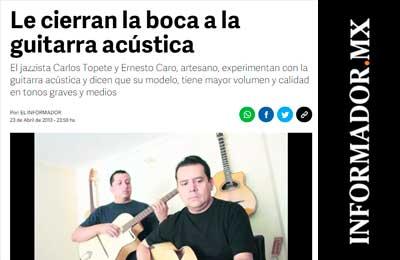 EL INFORMADOR CARO Y TOPETE
