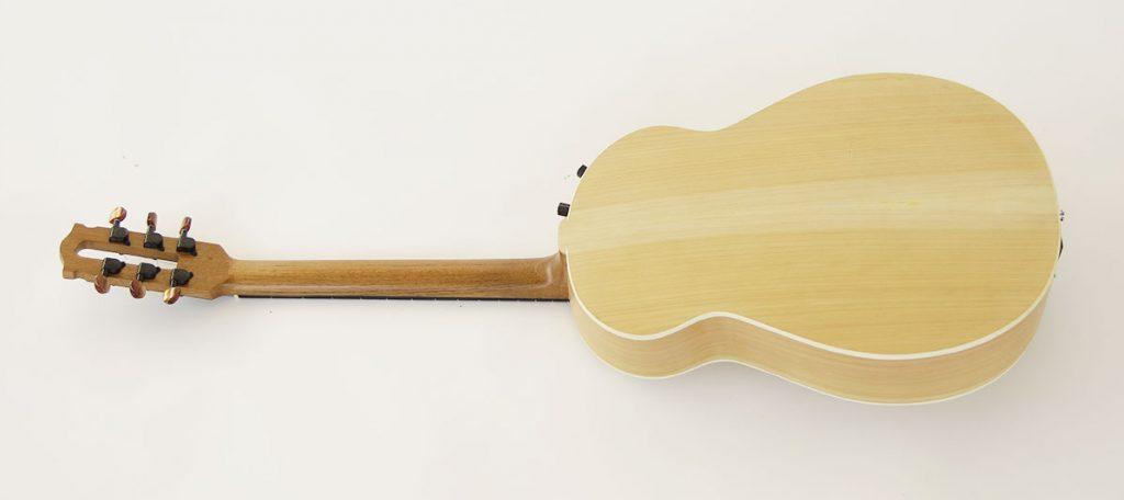 guitarra acustica archtop rear 1