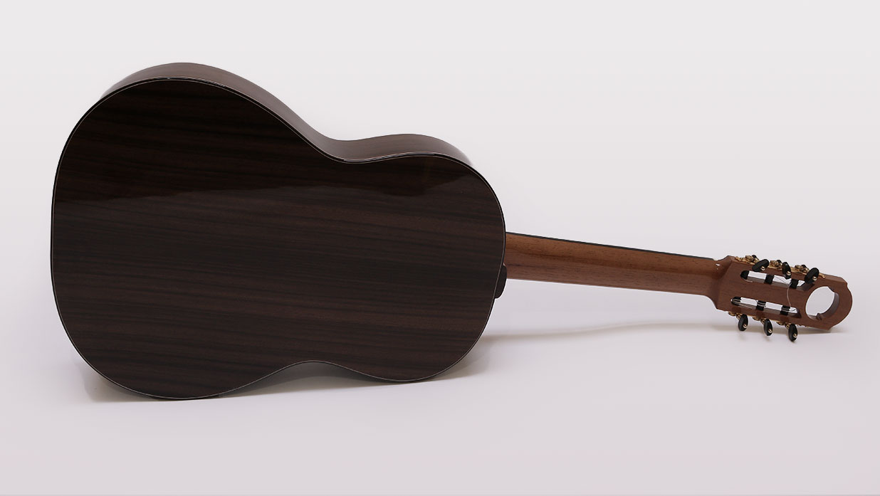 guitarra acustica modelo CSa rear 1 B