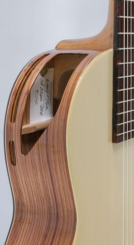 guitarra caro y topete ese 6