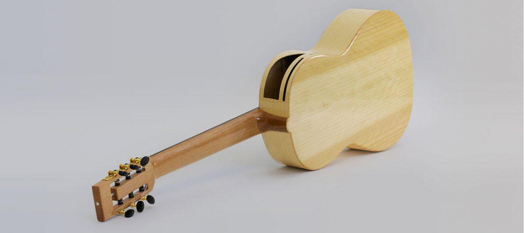 guitarra caro y topete mnc 2 A