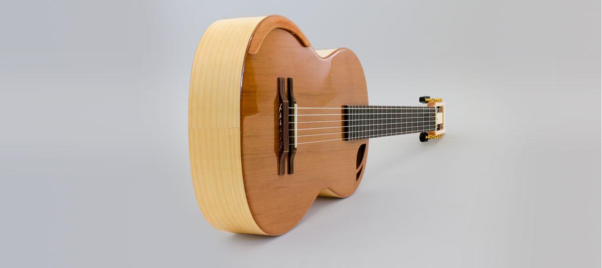 guitarra caro y topete mnc 3 B